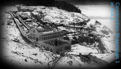 En Mauricie, nous retrouvons un des berceaux de l'hydroélectricité au Québec, Shawinigan.
